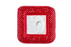 Miroir rouge de poche Image libre de droits