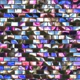 Miroir souillé en verre Image stock