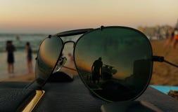 Miroirs en verre image stock