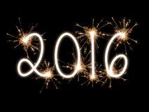 Miroitant 2016 Photographie stock libre de droits