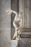 Miron Discobolus sculpture Stock Photo