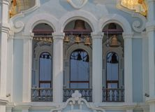 Mironositskaya kościół Bell na faÑ  ade Obraz Royalty Free