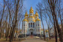 Mironositskaya kościół (Kharkiv) Fotografia Stock