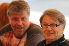 Miroslav Ciro Blazevic And Dubravko Simenc stock fotografie