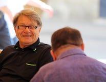 Miroslav Ciro Blazevic/sonrisa de la leyenda Fotografía de archivo libre de regalías