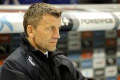 Miroslav Djukic Cordoba-Trainer CF Lizenzfreie Stockfotos