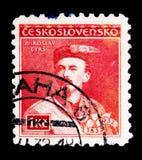 Miroslav Tyrs, serie de las personalidades, circa 1932 Imagenes de archivo
