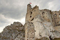 Mirow Castle - Poland, Silesia. Stock Images