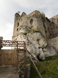 Mirow knight's castle ruins in the Jura Cracow Czestochowa Stock Photos