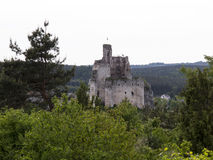 Mirow knight's castle ruins in the Jura Cracow Czestochowa Royalty Free Stock Image
