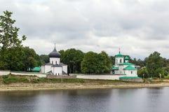 Mirozhsky Monastery, Pskov Stock Photos