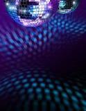 Mirroballen van de disco Stock Fotografie