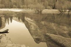 Mirror湖加利福尼亚 免版税库存照片