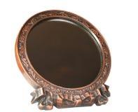 Mirror. On a white background Royalty Free Stock Photos