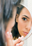 In the mirror Royalty Free Stock Photography