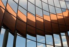 Mirror. Glass centre international world's Congress Stock Images