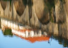 Mirror. Reflection in the river Stock Photography