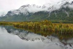 Mirror湖 图库摄影