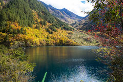 Mirror湖 免版税库存照片