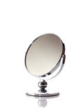 Mirror. On the white background Royalty Free Stock Photo