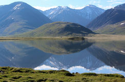 The mirror of Altay. Royalty Free Stock Photos
