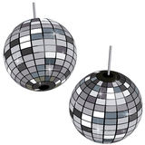 Mirror Ball. This graphic is a mirror ball Stock Images