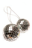 Mirror ball. Image of a mirror ball isolated on a white background Stock Photos
