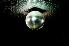 Mirror ball. On the party Royalty Free Stock Photo