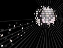 Mirror ball background Royalty Free Stock Photos