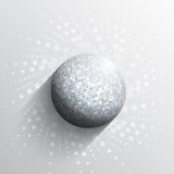 Mirror ball background Royalty Free Stock Photo