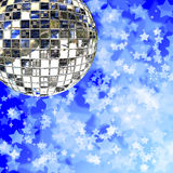 Mirror ball ball Stock Image