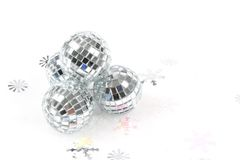Mirror ball Christmas Ornament Stock Images