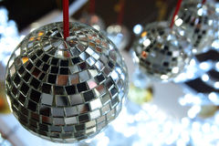 Mirror ball. Decoration in festivals Stock Image