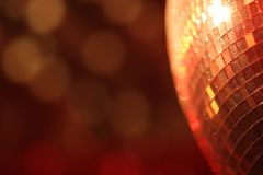 Mirror ball lights Stock Image