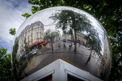 Mirror Ball in Paris Royalty Free Stock Photo