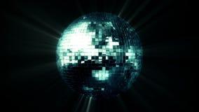 Mirror Ball Spinning Loop Royalty Free Stock Image