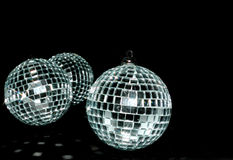 Mirror balls Stock Photo