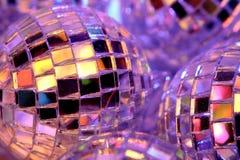 Mirror balls Stock Photo