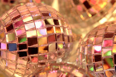 Mirror balls Stock Photography