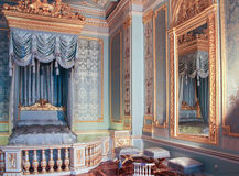The mirror in the bedroom of the Gatchina Palace. royalty free stock images