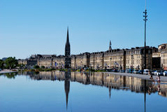 The mirror in Bordeaux Stock Image