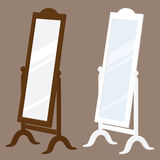 Mirror Royalty Free Stock Photos