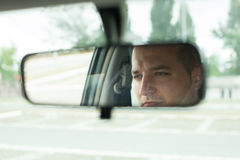 Mirror car Royalty Free Stock Photography