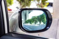 Mirror of the car Stock Photography