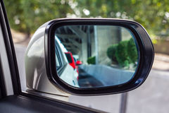 Mirror of the car Royalty Free Stock Photography