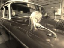 Mirror on classic car Royalty Free Stock Photography