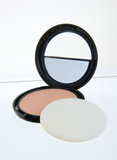 Mirror Compact Make up Royalty Free Stock Images