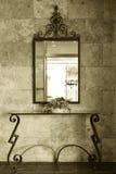 Mirror detail Stock Image