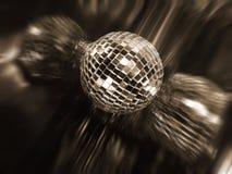 Mirror disco ball Stock Photo