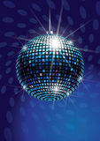 Mirror Disco Ball. Vector Illustration Stock Photos